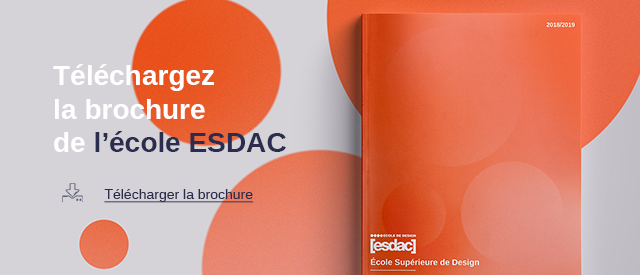 L'ESDAC, école de design, d'arts appliqués et de communication en alternance et  à l'international