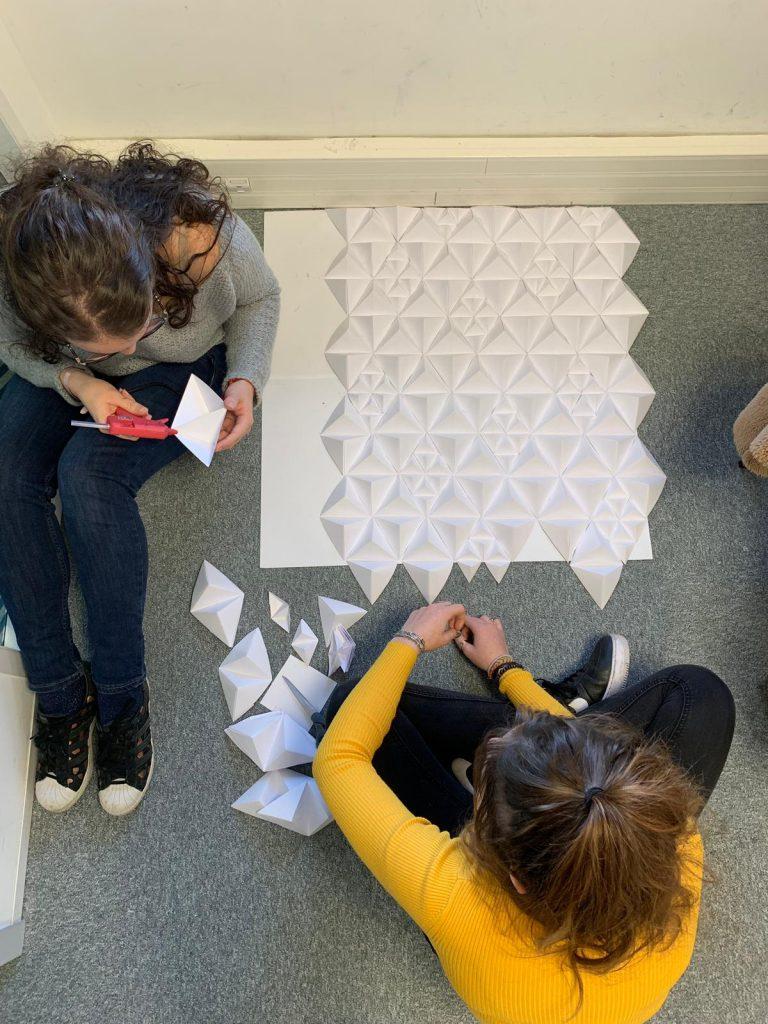 Workshop Design d'Espace à l'école de design ESDAC Marseille