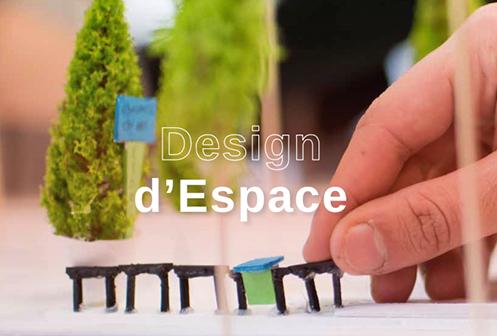 Design d'Espace à l'école de design ESDAC