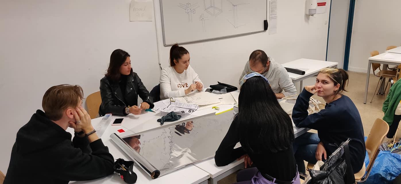 Détournement d'Espace et Narration à l'école de design ESDAC Marseille