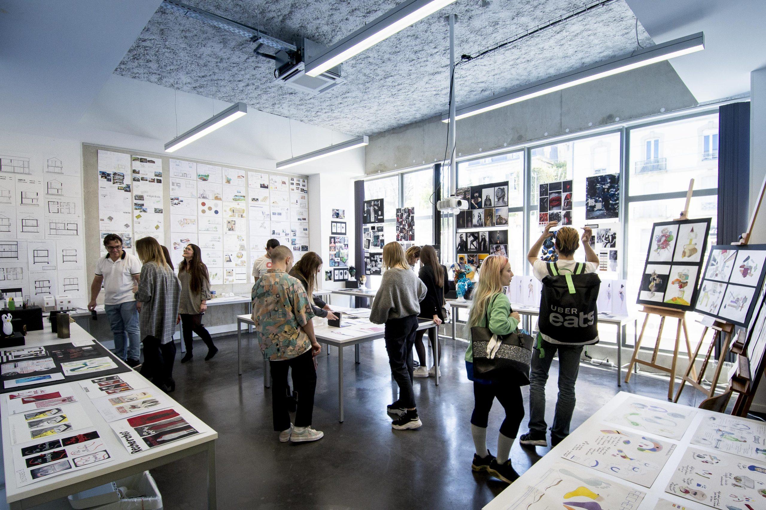 Journées Portes Ouvertes de l'école de design ESDAC Montpellier