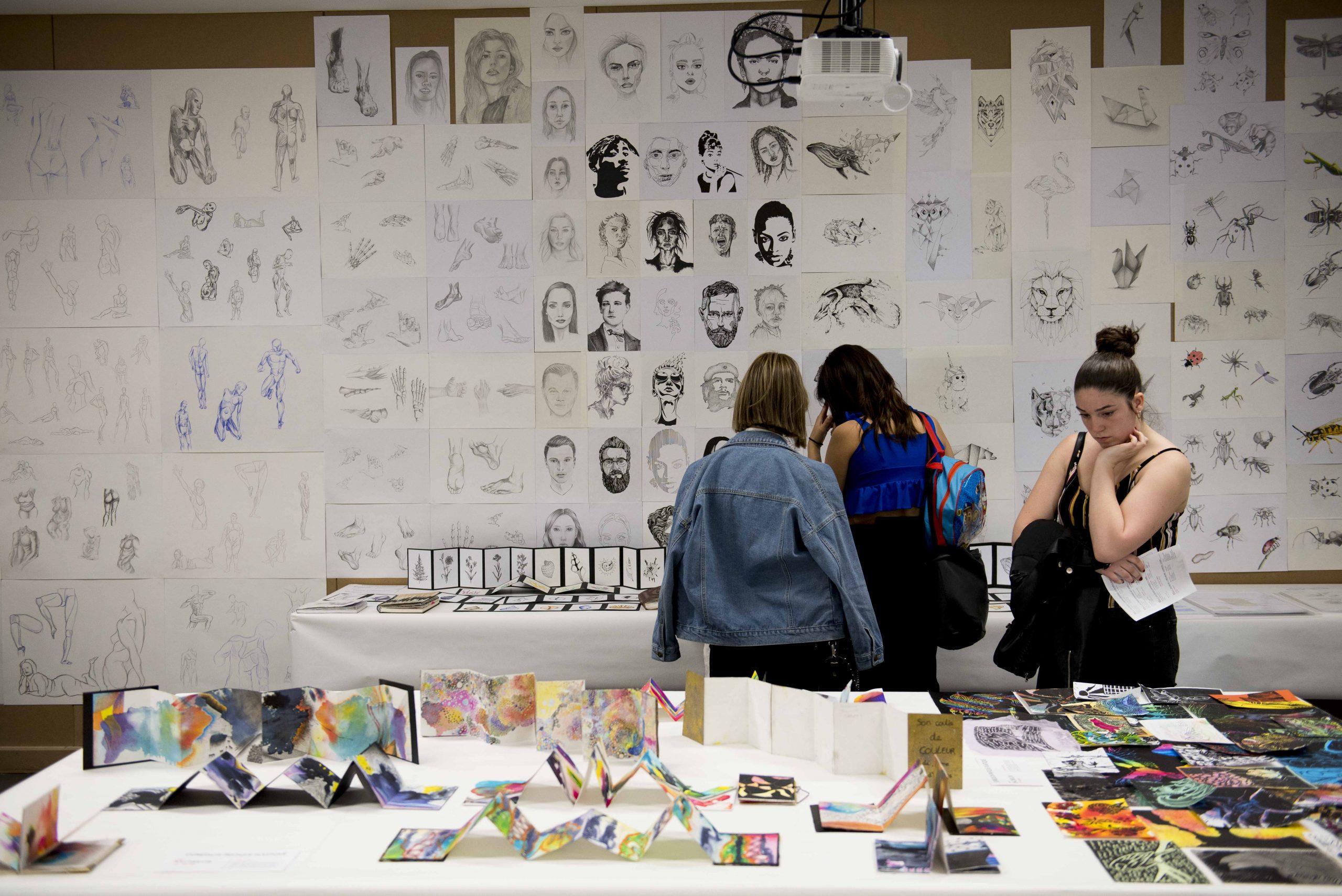 Journées Portes Ouvertes de l'école de design ESDAC Lille