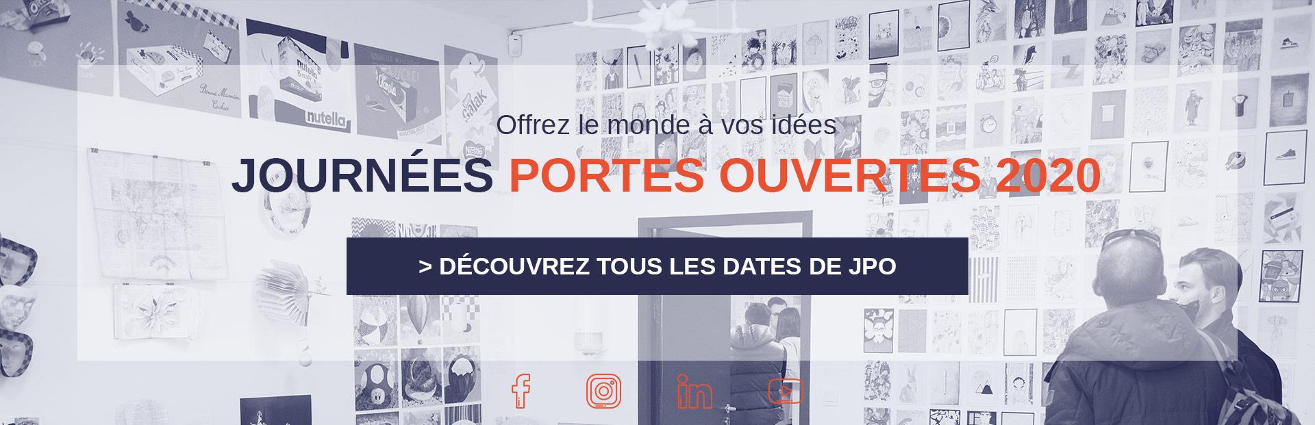 Journées Portes Ouvertes à l'école de design Aix-en-Provence & Marseille