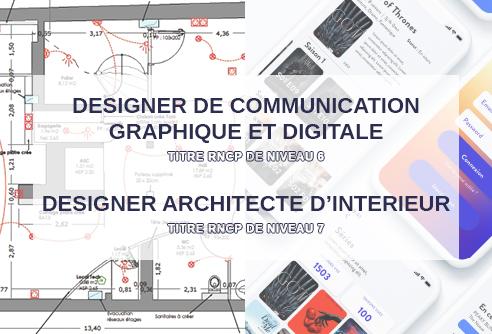 Titre certifié RNCP en design à l'école de design ESDAC Aix-en-Provence et Marseille