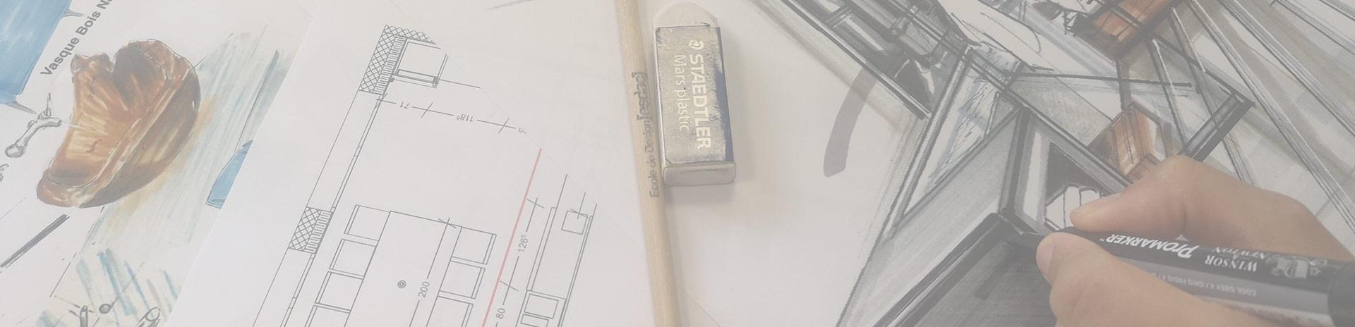 Titres certifié RNCP de niveau 7 Designer Architecte d'Intérieur à l'école de design ESDAC