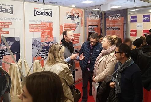 L'école de design ESDAC sur les salons étudiants de France