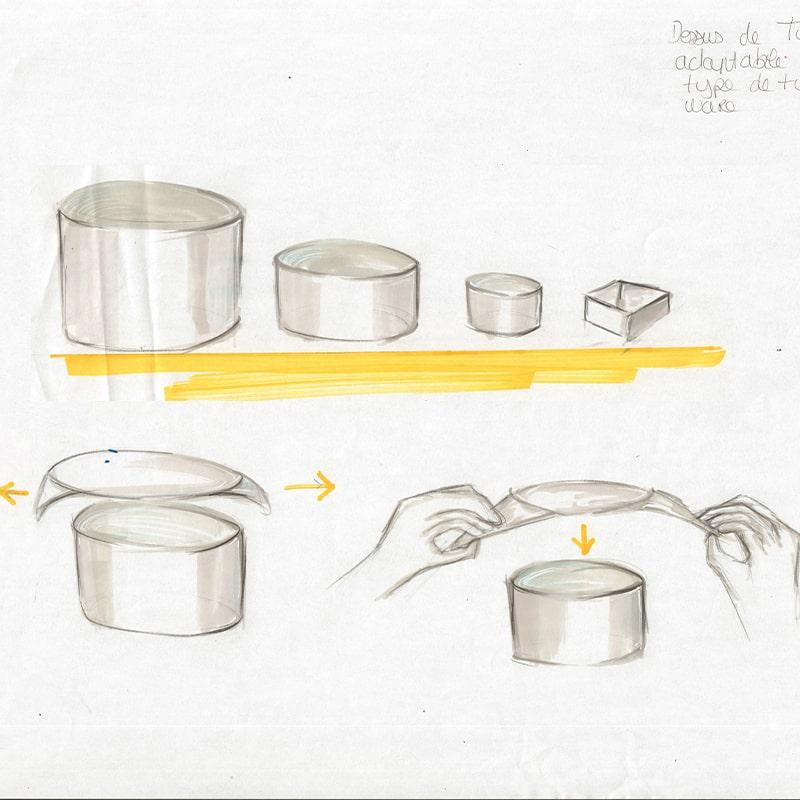 Design de Produits à l'école de design ESDAC