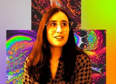 Alycia Rainaud ancienne étudiante en Design Graphique ESDAC alias maalavidaa sur Instagram