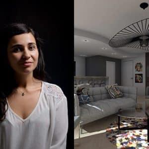 Alexandra Ferré, ancienne étudiante en Design d'Espace