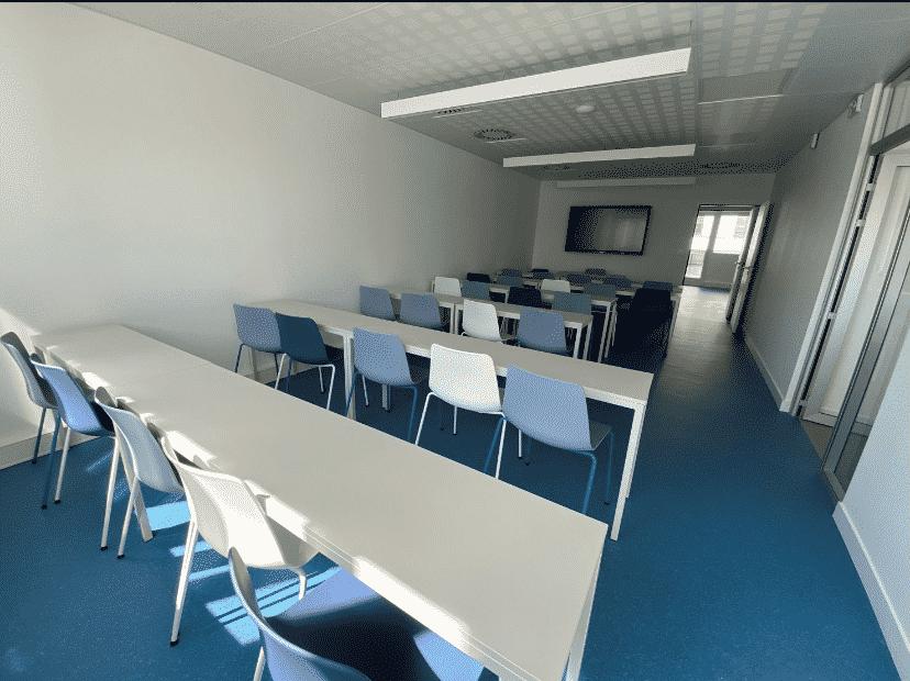 Visuel de la réunion d'information de l'école de design ESDAC