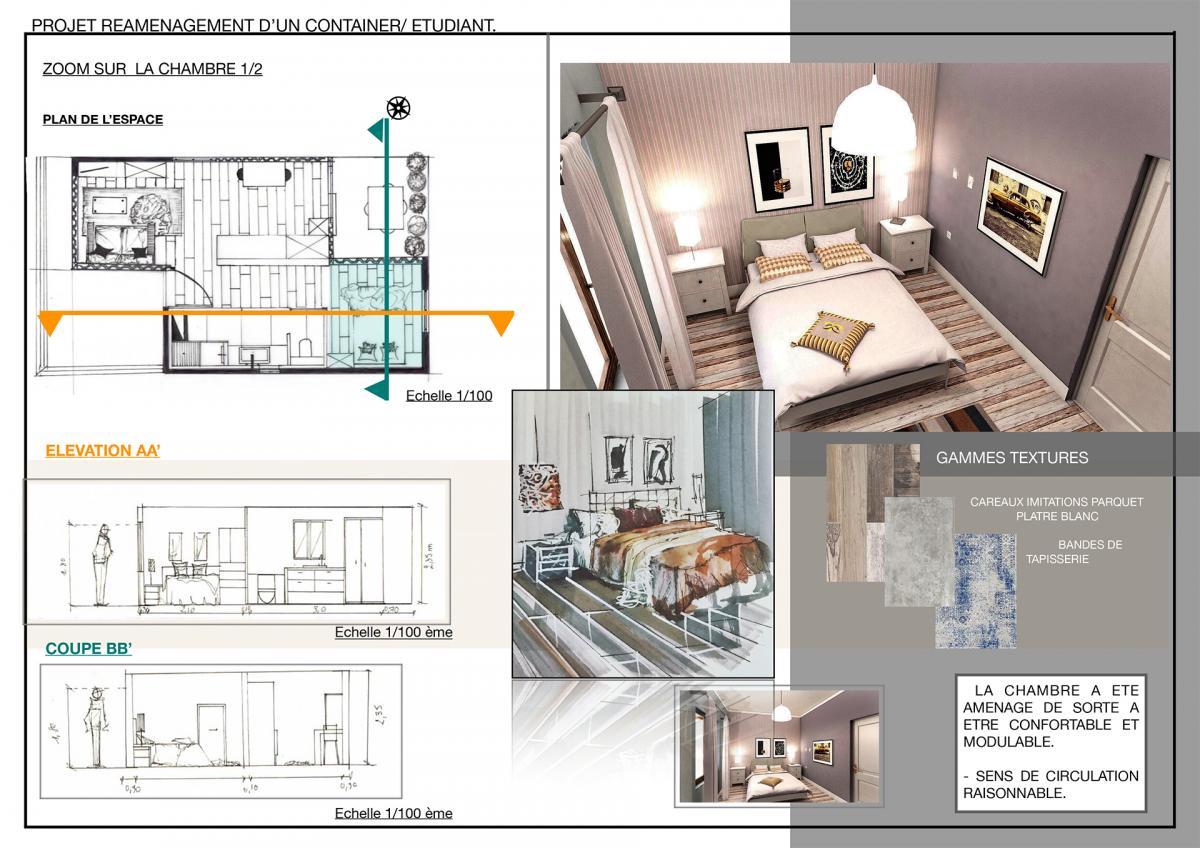 design d espace cole sup rieure de design darts. Black Bedroom Furniture Sets. Home Design Ideas